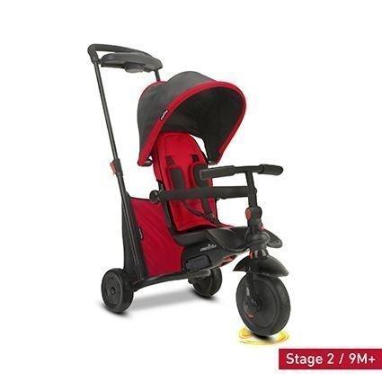 Велосипед Smart Trike 7в1 SmarTfold 500 Red (от 10 месяцев до 3х лет, компактный, вес 7.5 кг)