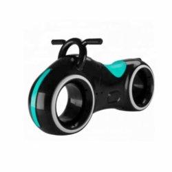 Беговел Star One Scooter - DB002 черно-зеленый (устойчивые колеса, подсветка, музыка)